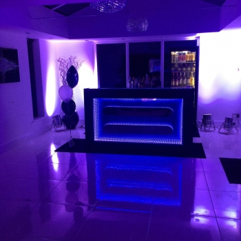 Blue bar hire Lancashire