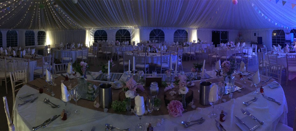 Marquee Wedding Catering Lancashire