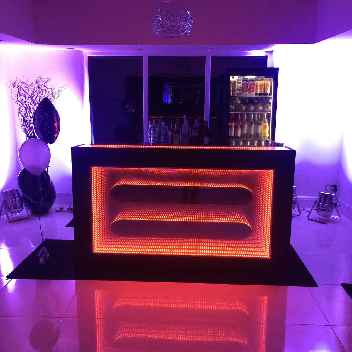 Orange bar hire