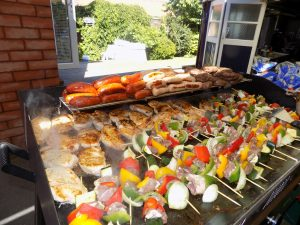 barbeque catering, Wilmslow, Alderly Edge