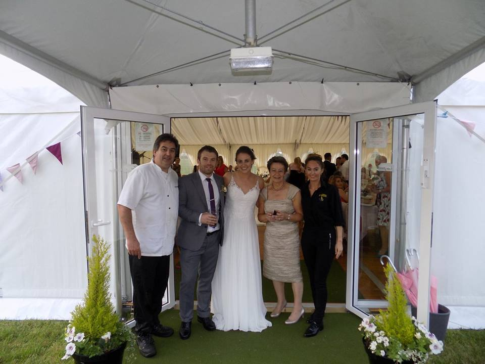 Marquee wedding caterers Garstang