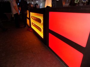 portable led mobile hire lancashire , party led bars