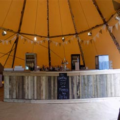 Tipi Mobile Bar Hire Lancashire