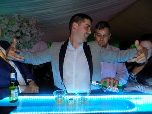 led mobile bar hire preston lancashire