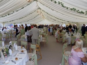 Marquee Outside Wedding Caterers and Mobile Bar Service Hambelton Lancashire
