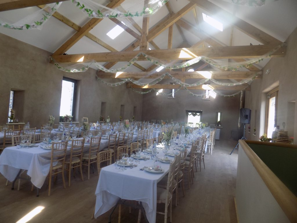 Longlands Cartmel outside wedding Caterers Cumbria and mobile bar service