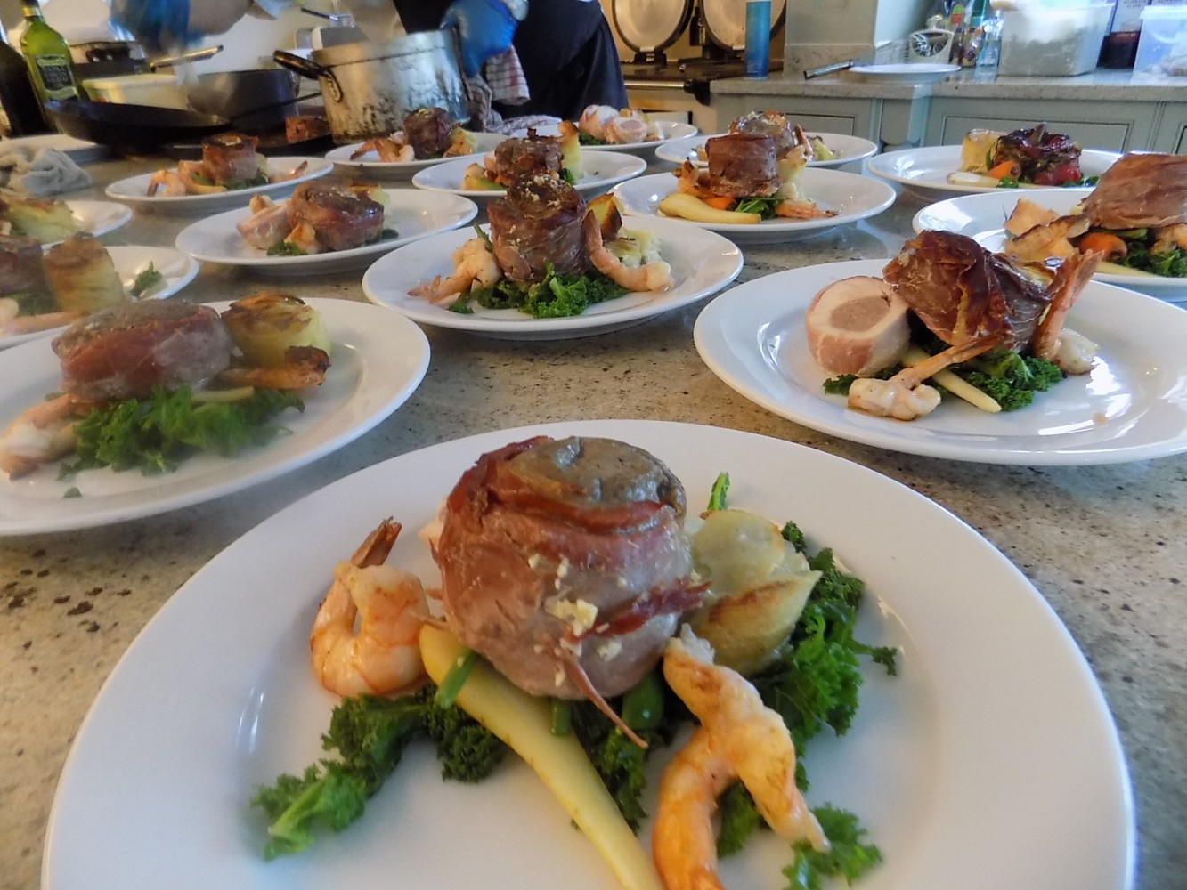 dinner party caterers lancashire Over Wyre