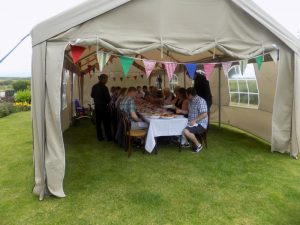 Garden Party Outside Catering Staining Lancashire
